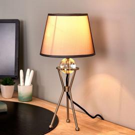 Lampe à poser orientable Zsa grise
