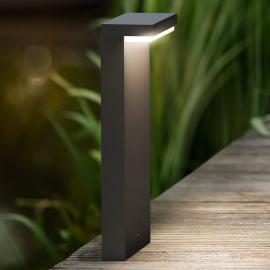 Luminaire pour socle LED Bustan de forme anguleuse
