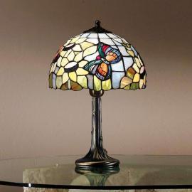 Magnifique lampe à poser VIKTORIA de style Tiffany