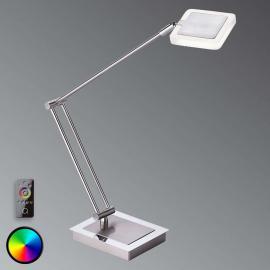 Lampe à poser LED fonctionnelle Vidal avec téléc.
