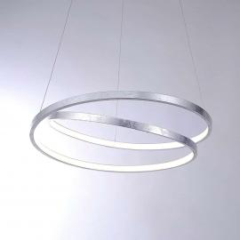 Suspension argent LED Roman dimmable