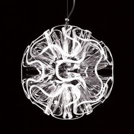 Lampe à suspension LED sphérique Coral,transparent