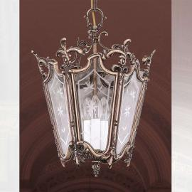 Suspension Pilar en forme de lanterne