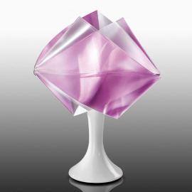Lampe à poser de designer Gemmy Prisma, violet