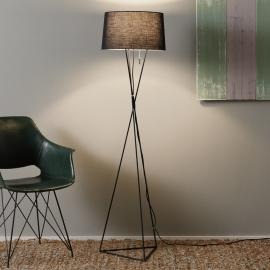 Lampadaire original New York en textile