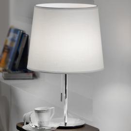 Lampe à poser en textile Amsterdam à tirette