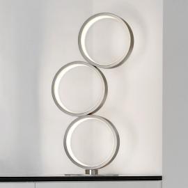 Lampe à poser LED Loop avec 3 anneaux, dimmable
