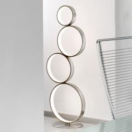 Lampadaire LED Loop en métal