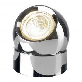 Lampe à poser LED chromé Tarly