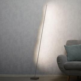 Lampadaire LED Pin, variateur d'intensité