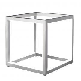 Lampe à poser LED Delux, cube, 20 cm