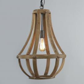 Suspension en bois Liberty bell