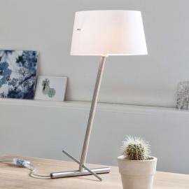 Lampe à poser textile de designer Slant