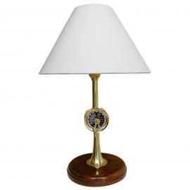Stupéfiante lampe à poser TELEGRAPH bois