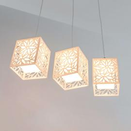 Remarquable suspension Anika, 3 lampes