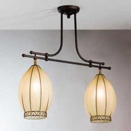 Suspension TULIPANO à 2 lampes