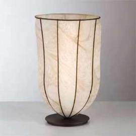 Lampe à poser antique GIARA 38 cm