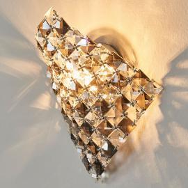 Applique exceptionnelle Saten en cristal 25 cm