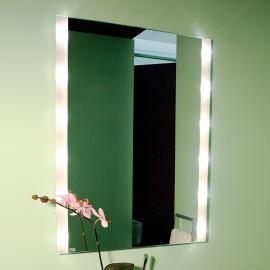 Miroir mural lumineux rectangulaire BRIGHTLIGHT