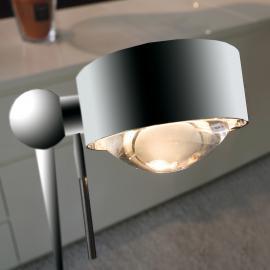 Lampadaire orientable PUK FLOOR chromé mat