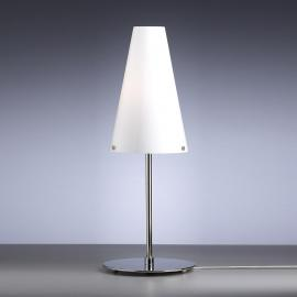Lampe à poser blanche opale de Walter Schnepel