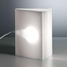 Lampe à poser Booklight de Vincenz Warnke