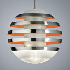 Suspension orange LED BULO
