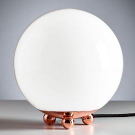 lampe à poser cuivre Art Déco France
