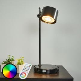 Lampe à poser LED IDual Jasmine avec télécommande