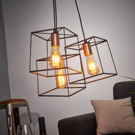 Suspension Agatha à trois lampes
