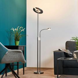 Lampadaire LED Linna avec variateur et liseuse