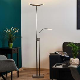 Lampadaire LED Annik et liseuse