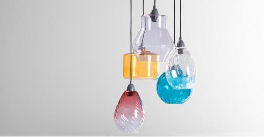 Ilaria, suspension multiple, multicolore