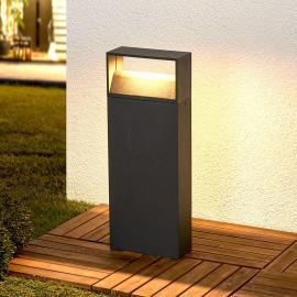 Luminaire pour socle LED Kjella en gris foncé