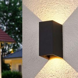 Applique LED éclairage bilatéral Kimian, extérieur