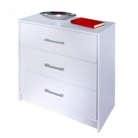 Altobuy Alaska - Commode 3 tiroirs