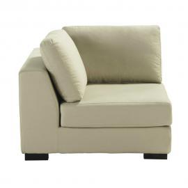 Angle de canapé en coton mastic Terence