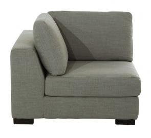 Angle de canapé modulable gris clair Terence