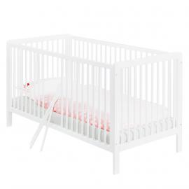 Lit bébé Lenny Kids - 70 x 140 cm - Blanc, Pinolino