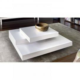 Inside 75 TemaHome Slate table basse design blanc mate
