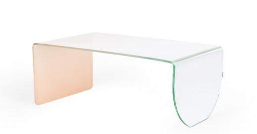 Hesta, table basse, rose