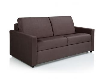 Canapé convertible VIENNE + Matelas mousse ou 100% latex, Dimensions: 140x190cm, Rev