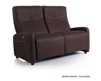 Canapé relaxation 1 moteur HAWAI, Alimentation fauteuil: Filaire, Revetement fauteui