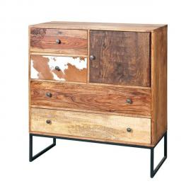 Paris Prix Commode 4 Tiroirs San Antonio Naturel