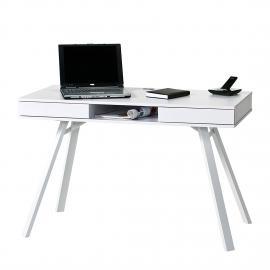 Bureau pour ordinateur Tala - Blanc, Maja Möbel