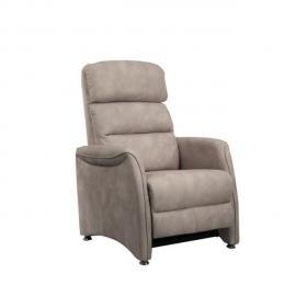 Tousmesmeubles Fauteuil de Relaxation Mastic - Softy - L 78 x l 90-155 x H 107-84