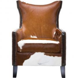 Karedesign Fauteuil à oreilles Denver Cow Kare Design