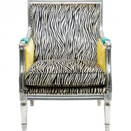 Karedesign Fauteuil Design Regency Zebra Kare Design