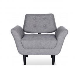 Declikdeco Le Fauteuil En Tissu Lounge apportera une touche tendance à la décoration de votre salon. Son assise moelleuse vous perm