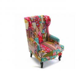 Inside 75 Fauteuil Rio King patchwork